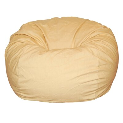 Ahh! Products Bean Bag Chair Upholstery: Marigold Yellow