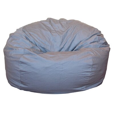 Bean Bag Chair Upholstery: Light Gray