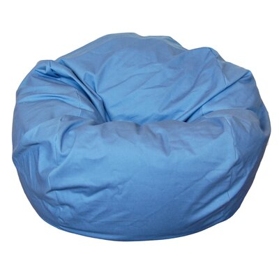Bean Bag Chair Upholstery: Dusty Blue