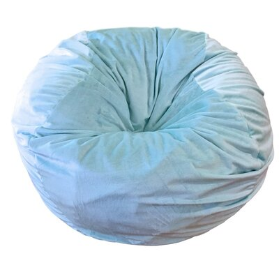 Bean Bag Chair Upholstery: Ice Blue