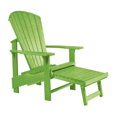 Alanna Footstool Color: Kiwi Green
