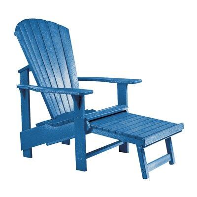 Alanna Footstool Color: Blue