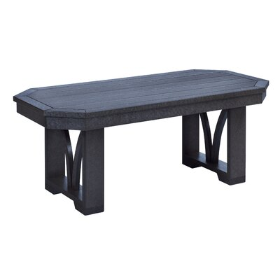 Raja Rectangle Coffee Table Finish: Black