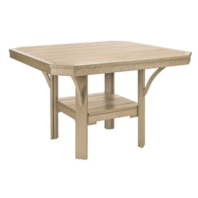 Longfellow Dining Table Color: Beige