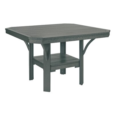 Longfellow Dining Table Color: Slate Gray