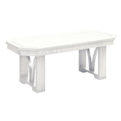 St Tropez Coffee Table Finish: White