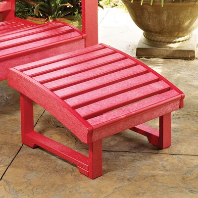 St Tropez Ottoman Finish: Red