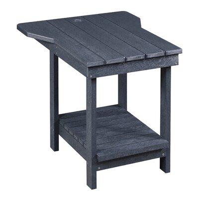 Captiva Tete A Tete Table Finish: Graystone