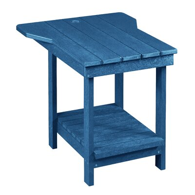 Captiva Tete A Tete Table Finish: Cobalt Blue