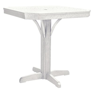 Raja Bar Table Finish: White