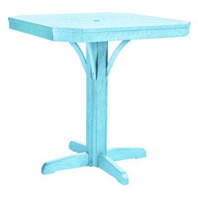 Raja Bar Table Finish: Aqua