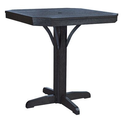 Raja Bar Table Finish: Black