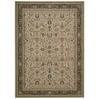 Antiquities Royal Countryside Ivory Area Rug Rug Size: 53 x 74