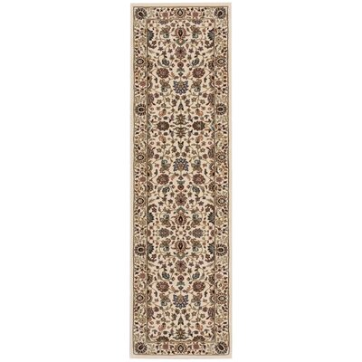 Antiquities Royal Countryside Ivory Area Rug Rug Size: Runner 22 x 76