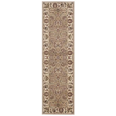 Antiquities American Jewel Cream Area Rug Rug Size: Runner 2'2
