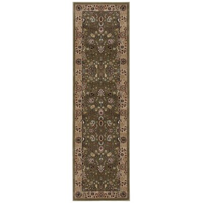 Antiquities Royal Countryside Sage Area Rug Rug Size: Runner 22 x 76