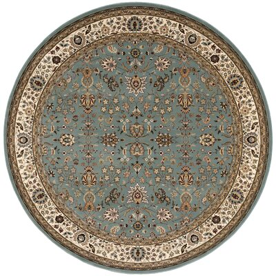Antiquities Royal Countryside Slate/Blue Area Rug Rug Size: 53 x 53