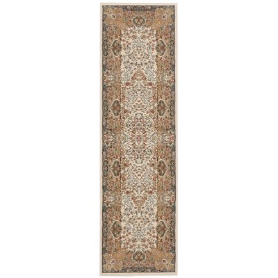 Antiquities Stately Empire Ivory Area Rug Rug Size: Runner 22 x 76