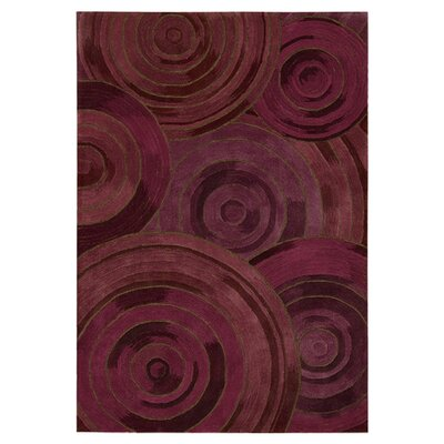 Palisades Ovation Hand-Tufted Plum Area Rug Rug Size: Rectangle 8 x 106