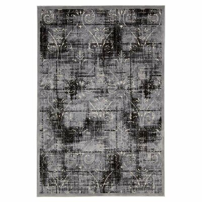 Bel Air Chateau De Ballue Ash Area Rug Rug Size: Rectangle 36 x 56