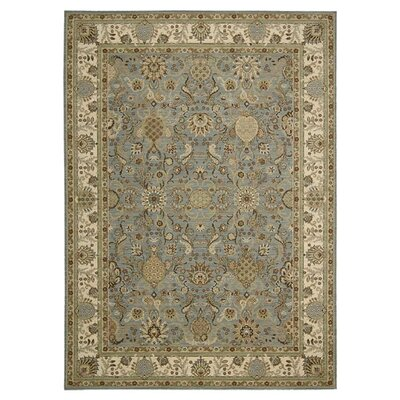 Lumiere Stateroom Slate/Brown Area Rug Rug Size: Rectangle 53 x 75