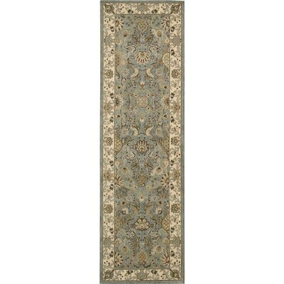 Lumiere Stateroom Slate/Brown Area Rug Rug Size: Runner 2'3