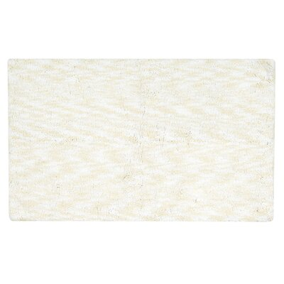 Kathy Ireland Plush Solutions Bath Mat Color: White