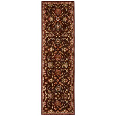 Babylon Ancient Times Ancient Treasures Brown Area Rug Rug Size: Runner 22 x 76