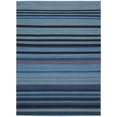 Kathy Ireland Griot Ngoma Indigo Area Rug Rug Size: Rectangle 8 x 106