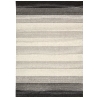 Kathy Ireland Griot Akadinda Hand-Woven Pepper Area Rug Rug Size: Rectangle 4 x 6