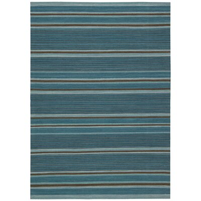 Kathy Ireland Griot Kora Turquoise Area Rug Rug Size: Rectangle 53 x 75