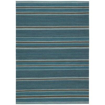 Kathy Ireland Griot Kora Turquoise Area Rug Rug Size: 53 x 75