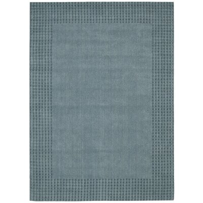 Cottage Grove Coastal Village Hand-Loomed Ocean Area Rug Rug Size: 53 x 75
