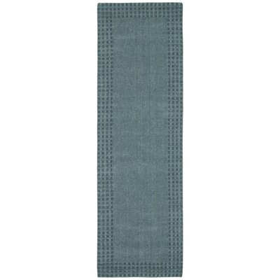 Cottage Grove Coastal Village Hand-Loomed Ocean Area Rug Rug Size: Runner 23 x 76