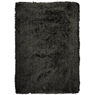 Studio Sunset Boulevard Hand-Woven Onyx Area Rug Rug Size: Rectangle 76 x 96
