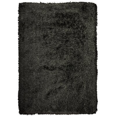 Studio Sunset Boulevard Hand-Woven Onyx Area Rug Rug Size: 76 x 96
