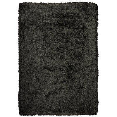 Studio Sunset Boulevard Hand-Woven Onyx Area Rug Rug Size: 5 x 7