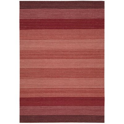 Kathy Ireland Griot Akadinda Hand-Woven Saffron Area Rug Rug Size: Rectangle 53 x 75