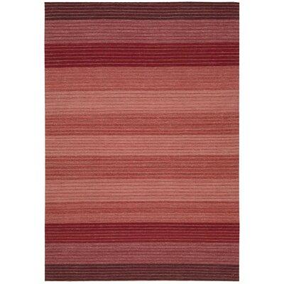 Kathy Ireland Griot Akadinda Hand-Woven Saffron Area Rug Rug Size: 4 x 6