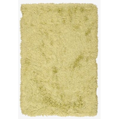 Studio Sunset Boulevard Hand-Woven Peridot Area Rug Rug Size: Rectangle 76 x 96
