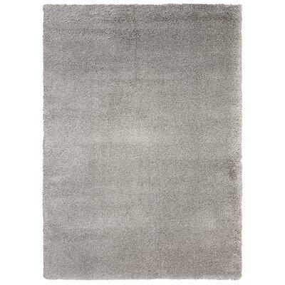Kathy Ireland Yummy Shag Silver Area Rug Rug Size: 311 x 511