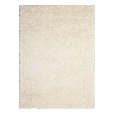 Kathy Ireland Yummy Shag White Area Rug Rug Size: 710 x 910