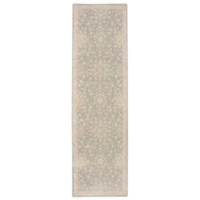 Royal Serenity Kathy Ireland St. James Hand-Tufted Cloud Area Rug Rug Size: Runner 23 x 8