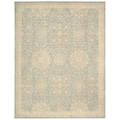 Royal Serenity Kathy Ireland St. James Hand-Tufted Cloud Area Rug Rug Size: 96 x 136