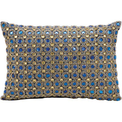 Savvy Throw Pillow Color: Sapphire
