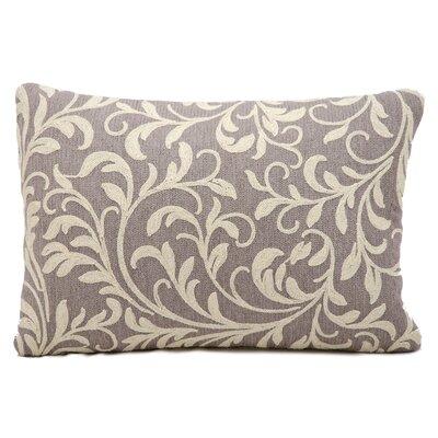 Shadow Wool Lumbar Pillow Color: Grey