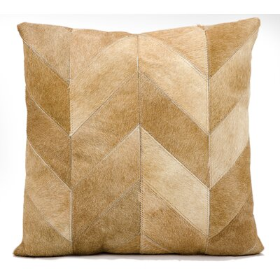 Heritage Throw Pillow Color: Beige