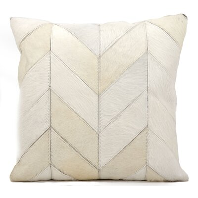Heritage Throw Pillow Color: White