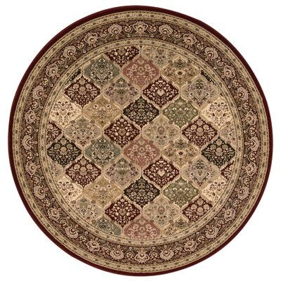 Antiquities Washington Green/Gray Area Rug Rug Size: 53 x 53