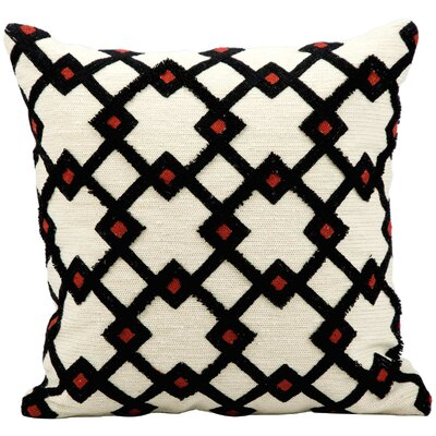 Wool Throw Pillow Color: Ivory